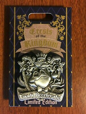 MR TOAD'S WILD RIDE Disney Crests of the Kingdom 2019 Pin Hinged LE2000