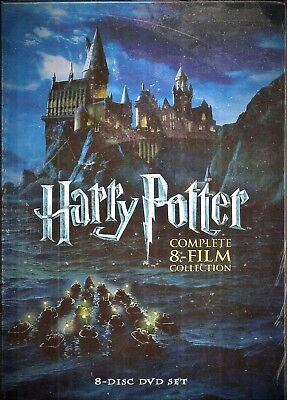 Harry Potter Complete 8-Film Collection DVD 8-Disc Set BRAND NEW