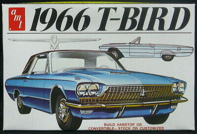 1/25 AMT Models 1966 FORD T-BIRD Hardtop or Convertible Stock or Custom! *NMIB*