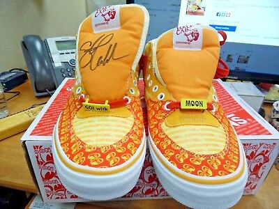 53a2a1fc55 HAND SIGNED !! STEVE CABALLERO VANS - MOONEYES HALF CAB from JAPAN ...