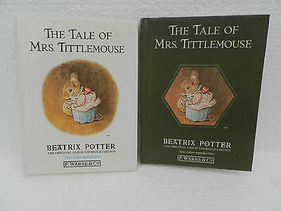 The Tale of Mrs.Tittlemouse by Beatrix Potter (Hardback, 1987) ~ F.Warne