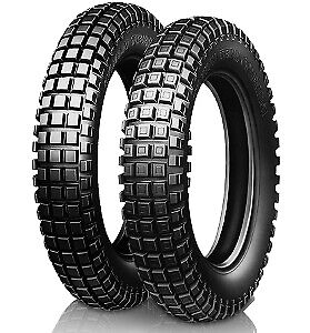 Gomme Moto 2.75-21 Michelin 45L TRIAL COMPETITION pneumatici nuovi
