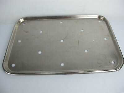Vollrath Stainless Steel Instrument Steam Tray 19x12.5x0.75