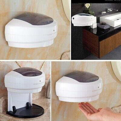 500ML Large Automatic Sensor Wall Mount Soap Dispenser Hands Free Wash Machine