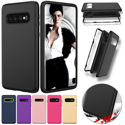 For Samsung S10 Pus S10e Note 9 Case Heavy Duty Hybrid Bumper Shockproof Cover