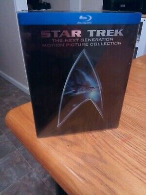 Star Trek: The Next Generation - Motion Picture Collection (Blu-ray Disc, 2009,…