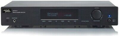Mitchell & Johnson SAP201V Stereo Integrated Amplifier with DAC (Black)