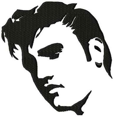 ELVIS 12 MACHINE EMBROIDERY DESIGNS CD or USB