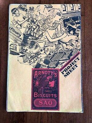 Arnott's Biscuits Project Sheet 1969 A History Of Biscuits