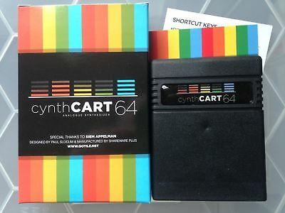 New >  Commodore 64 cynthCART 64 v2 Analogue Synthesizer with Midi Support