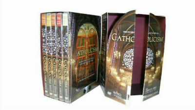 Catholicism: The Complete Series  5 DVD  Box Set New FREE FAST SHIPPING USA