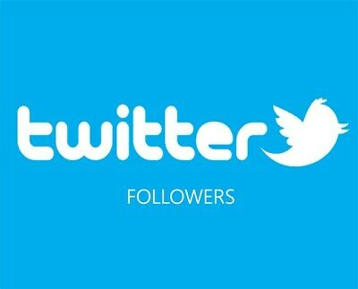 TWITTER FOLLOWERS [1000] Fast delivery | Safe | High quality