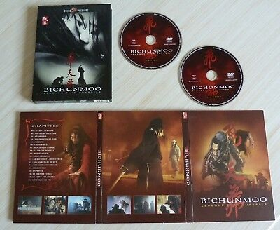 2 Dvd Pal Zone 2 Film Asiatique Digipack Bichunmoo Legende D'un Guerrier