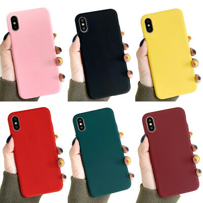 ShockProof Soft TPU Silicone Case Cover For iPhone 11 Pro 8 7 6 Plus XR XS MAX