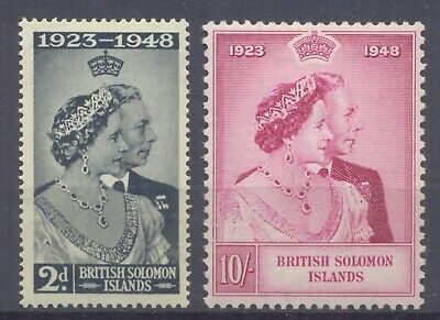 British Commonwealth, 1948 Royal Weddings sets hinged mint selection   -BA62