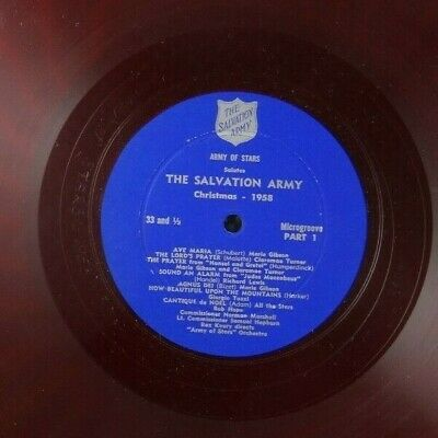 The Salvation Army - Christmas 1958 - Army of Stars