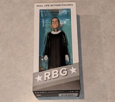 *NEW/SEALED* RUTH BADER GINSBURG Supreme Court Justice Action Figure RBG RARE