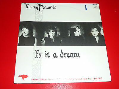 "7"" Vinyl - The Damned - Is It A Dream - Grim3 Ex/Ex"