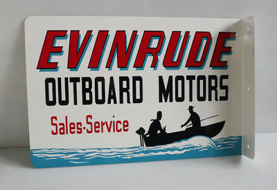 Antique Evinrude Outboard Boat Motor Gas Tank Untouched