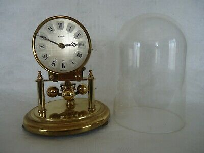 Vintage Kundo 400 Day Anniversary Dome Clock. Spares Or Repair