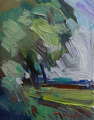 Jose Trujillo Oil-Painting Impressionist Expressionist Plein Air Fine Art Decor