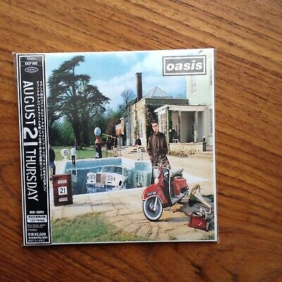 Japanese Mini Lp Cd Oasis Be Here Now