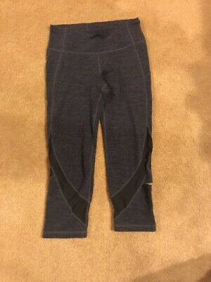 GapFit size XSmall Youth kids leggings Navy Blue  workout pants
