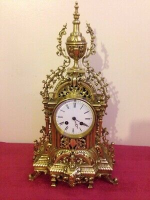 Antique French  Pierced clock by Japy Freres