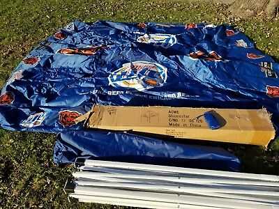 miller lite Beer canopy tent 10x10 outdoor bar tailgate party Chicago bears