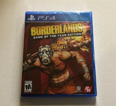 Borderlands Game Of The Year Edition New Sealed PS4 In Hand