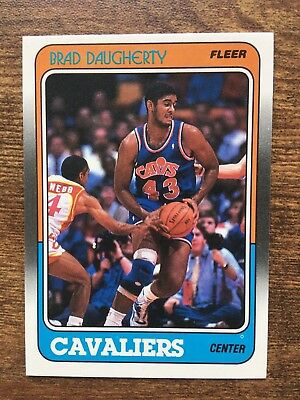ee930f592a771 1989-90 FLEER CLEVELAND Cavaliers Basketball Card #25 Brad Daugherty ...