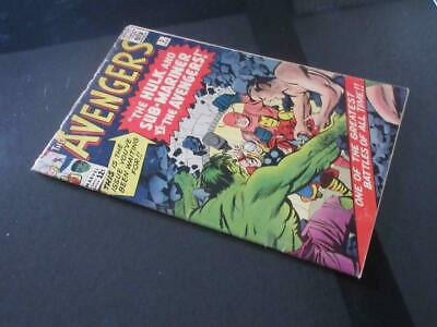 Avengers #3 Marvel 1964 - 2nd Sub-Mariner x-over, teams up with the Hulk!