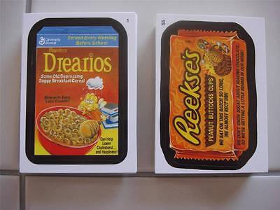2014 Topps Wacky Packages Series 1 (Ans 12) New Just Out Entire Set 110 Cards