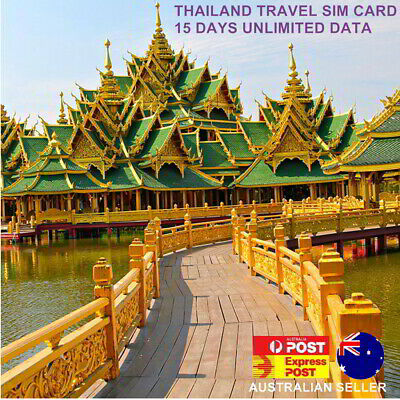 15 Days Thailand Travel SIM Card | Unlimited Data | $1.3 per day