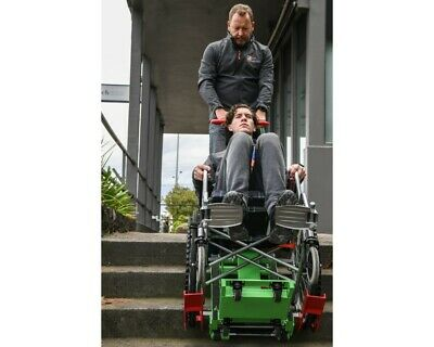 Motorised Stair Climbing Wheelchair Lift with safety straps and 160kg capacity
