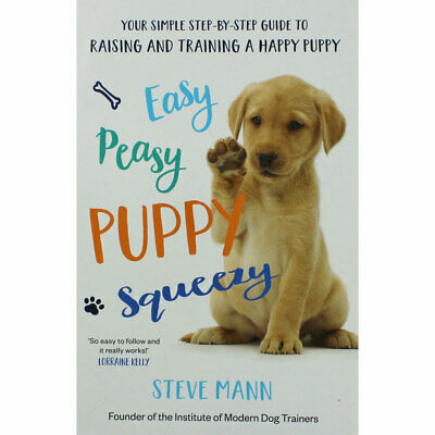 Easy Peasy Puppy Squeezy by Steve Mann (Paperback), New Arrivals, Brand New