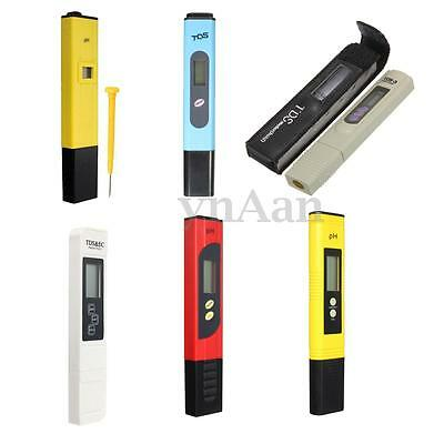 Electric Pocket LCD PH TDS Meter er Hydroponics Pen Aquarium Pool Water