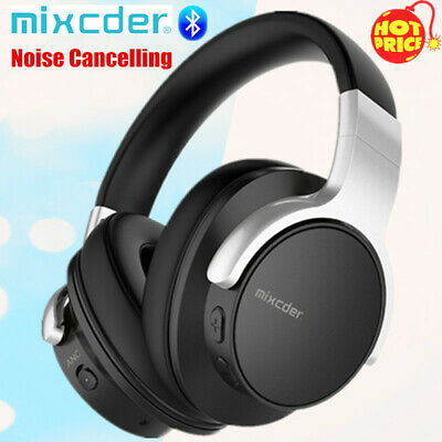 Mixcder Wireless Headphones Bluetooth Headset Noise Cancelling Over-Ear W/ MIC