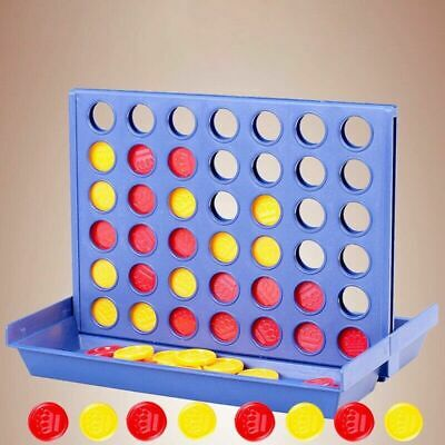 IN A ROW CONNECT 4 MINI TRAVEL GAME TOY BOYS GIRL BIRTHDAY PARTY Creative
