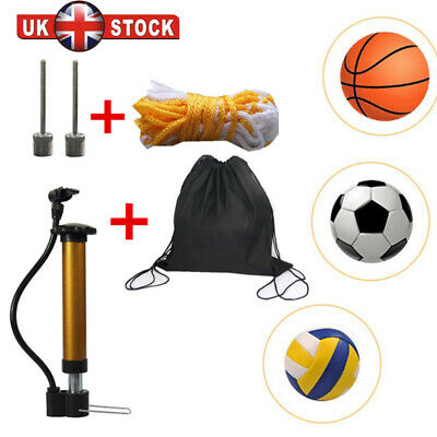 Pump Needle Inflating Ball Football Rugby Volleyball Netball Valve Adaptor Y