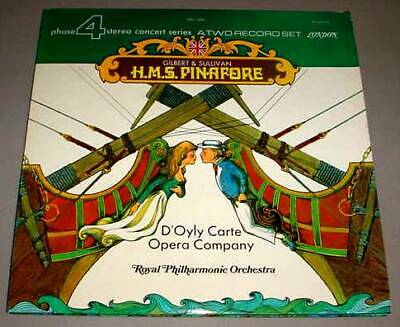 H.m.s. Pinafore 2 Lp Phase 4 Stereo D'oyle Carte Opera