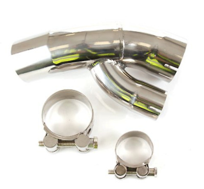 BMW S1000 XR (2015-2019) New Lextek Stainless Steel Exhaust Link Pipe