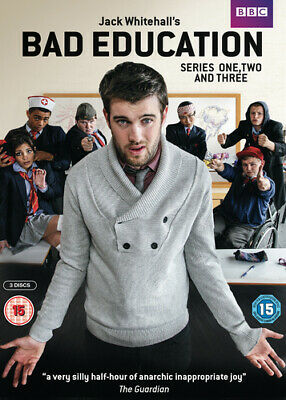 Bad Education: Series 1-3 DVD (2015) Jack Whitehall cert 15 3 discs Great Value