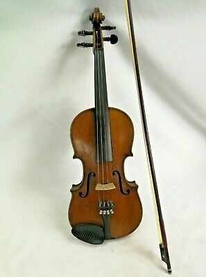 Antique Early 1900's E.R Schmidt Saxony Antonius Stradivarius Copy (Hospiscare)