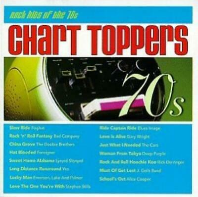 Various Artists : Chart Toppers: Rock Hits of 70s CD