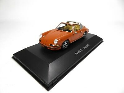 Porsche 911 Targa 1973 - 1/43 Collection 911 - Voiture ATLAS Model Car 012