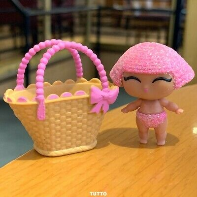 With bag PINK BODY  LOL Surprise LiL Sisters L.O.L. GLITTER QUEEN doll MBJD