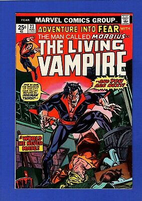 Adventure Into Fear #23 Nm 9.4 High Grade Bronze Age Marvel Early Morbius