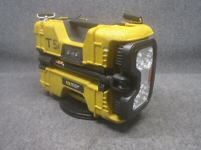 Pelican Model 9480 Portable Remote Area Lighting System Yellow *Tested Working*