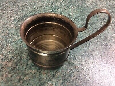Vintage/antique Silver Baby Cup, Punch Cup.